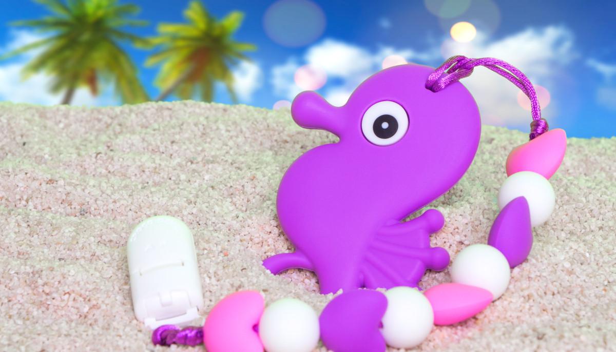 Seahorse - Purple