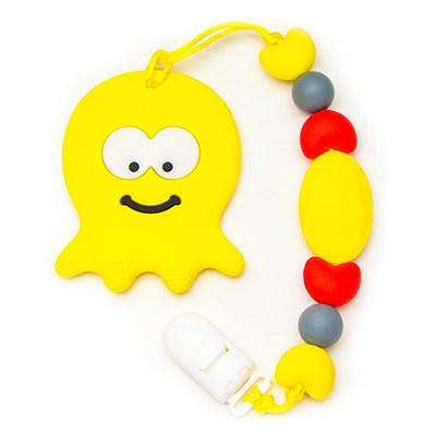 Teething Toys Octopus - Yellow