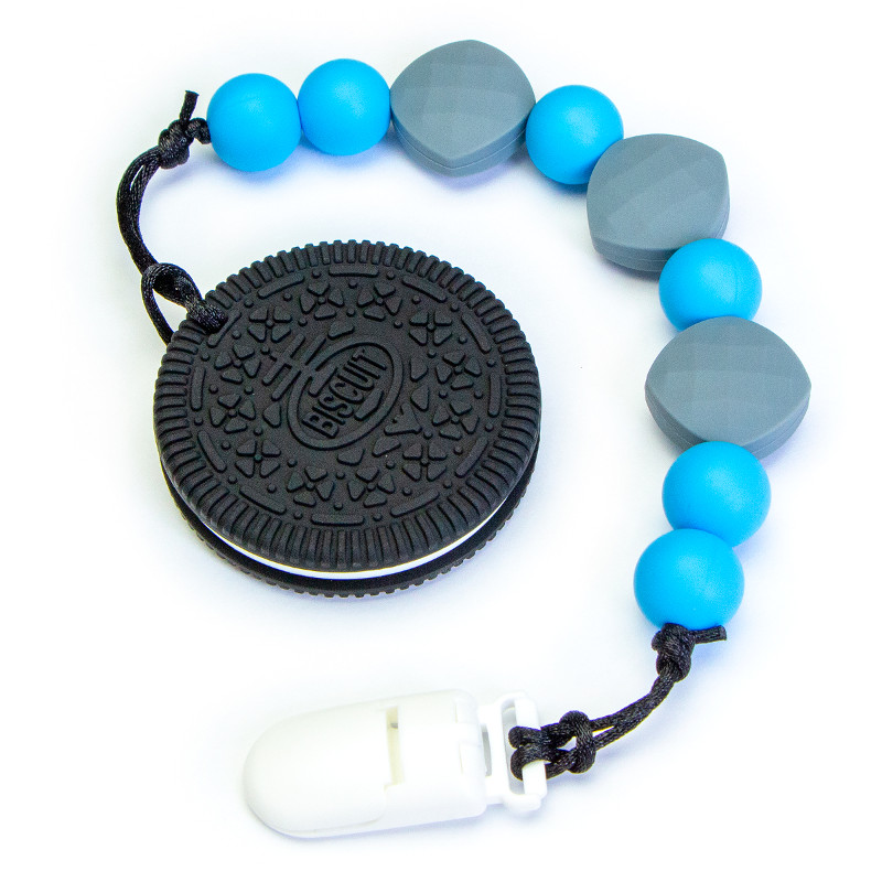 Teething Toys Biscuit - Blue