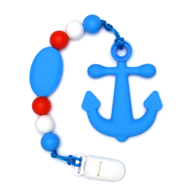 Teething Toys Anchor - Blue