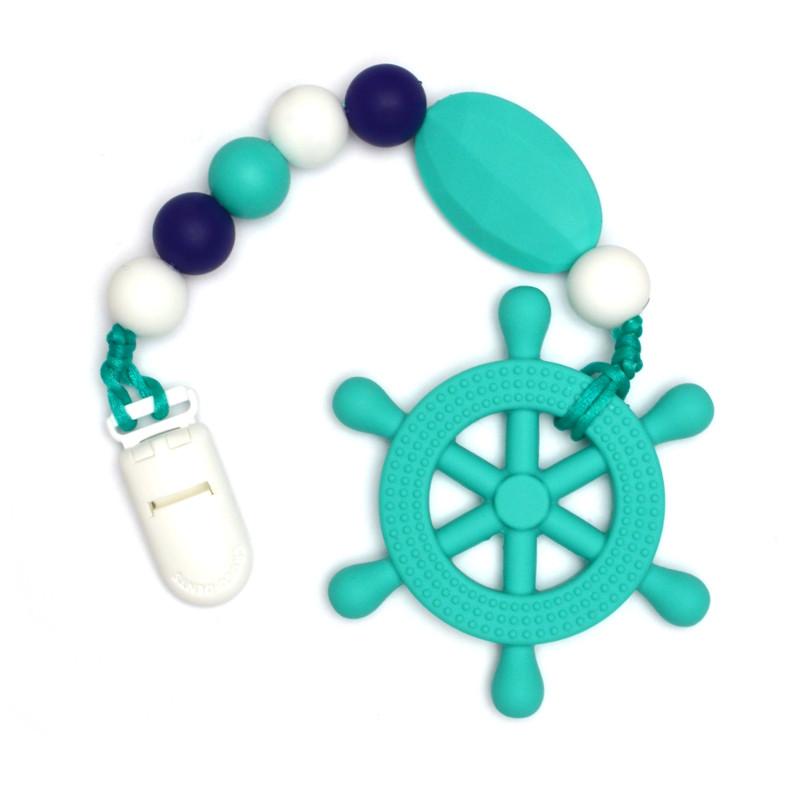 Teething Toys Rudder - Turquoise