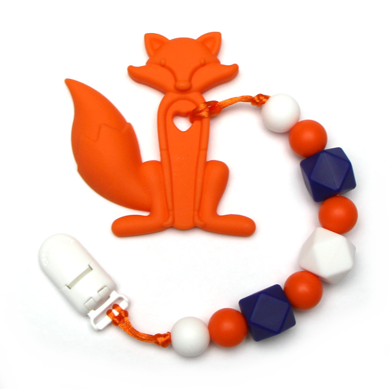 Teething Toys Fox - Orange