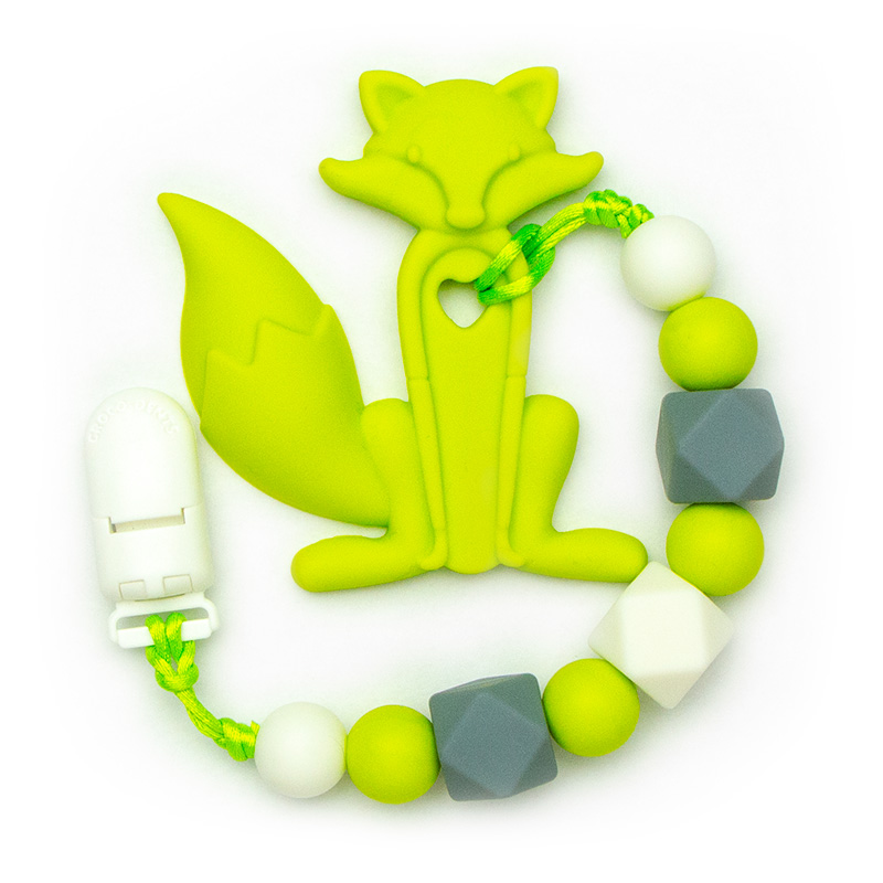 Teething Toys Fox - Green