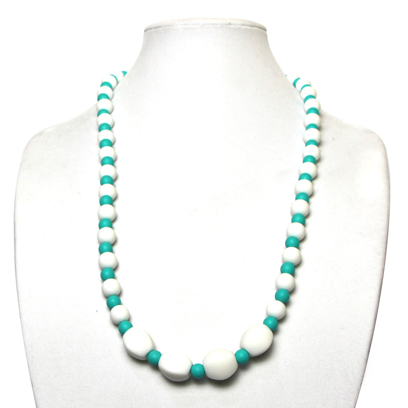 Teething Necklaces Bourgeon - Turquoise