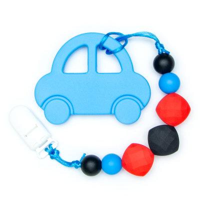 Teething Toys Car - Blue