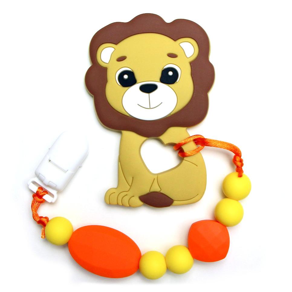 Teething Toys Tiger - Yellow