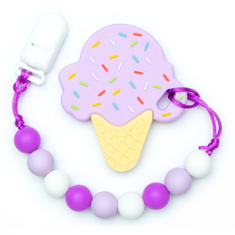 Teething Toys Ice Cream - Grapes