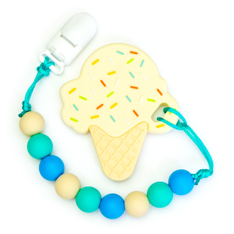 Teething Toys Ice Cream - Vanilla