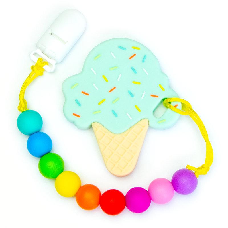 Teething Toys Ice Cream - Pistachio