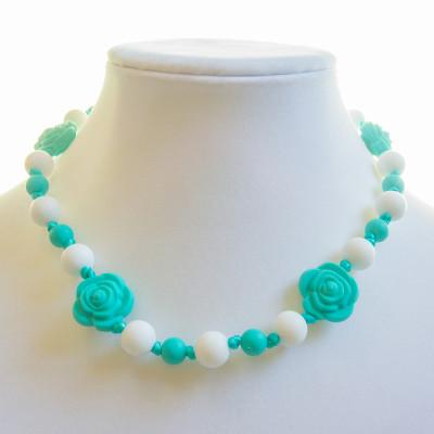 Rose (Kid) - Turquoise