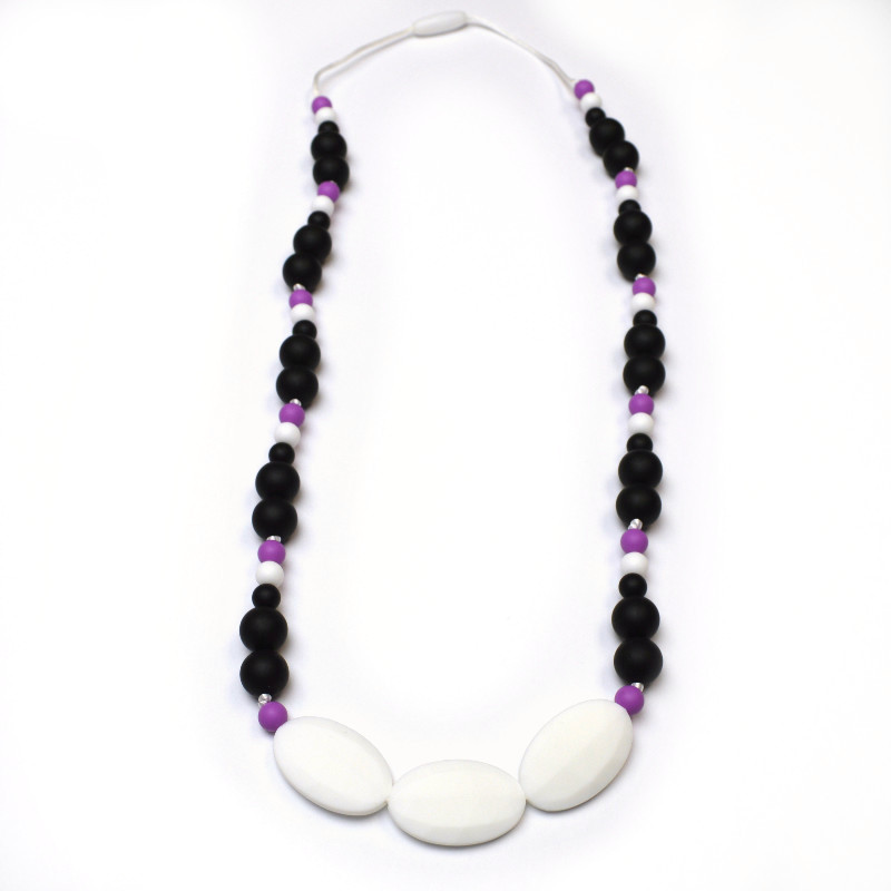 Teething Necklaces Melody - White