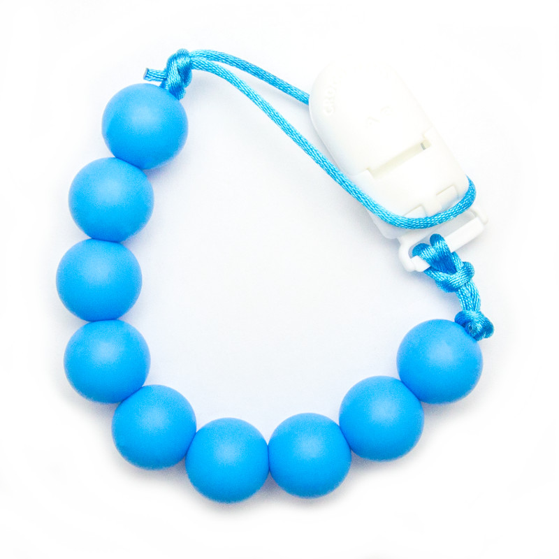 Pacifier Clips Classic - Blue