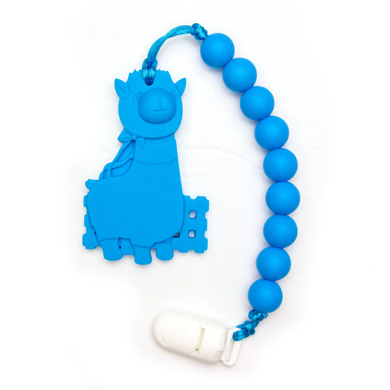 Teething Toys Alpaca - Blue