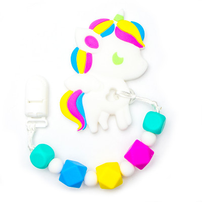 Teething Toys Unicorn - Purple
