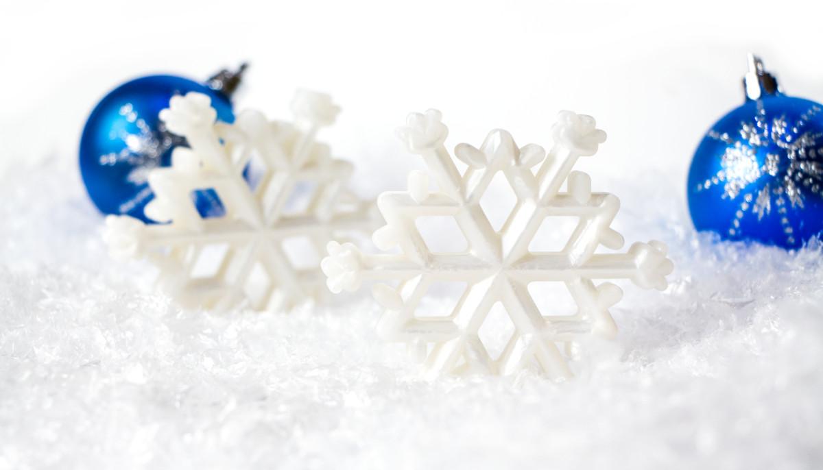 Snowflake (Only) - White