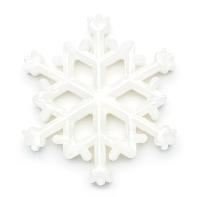 Snowflake (Only) - White