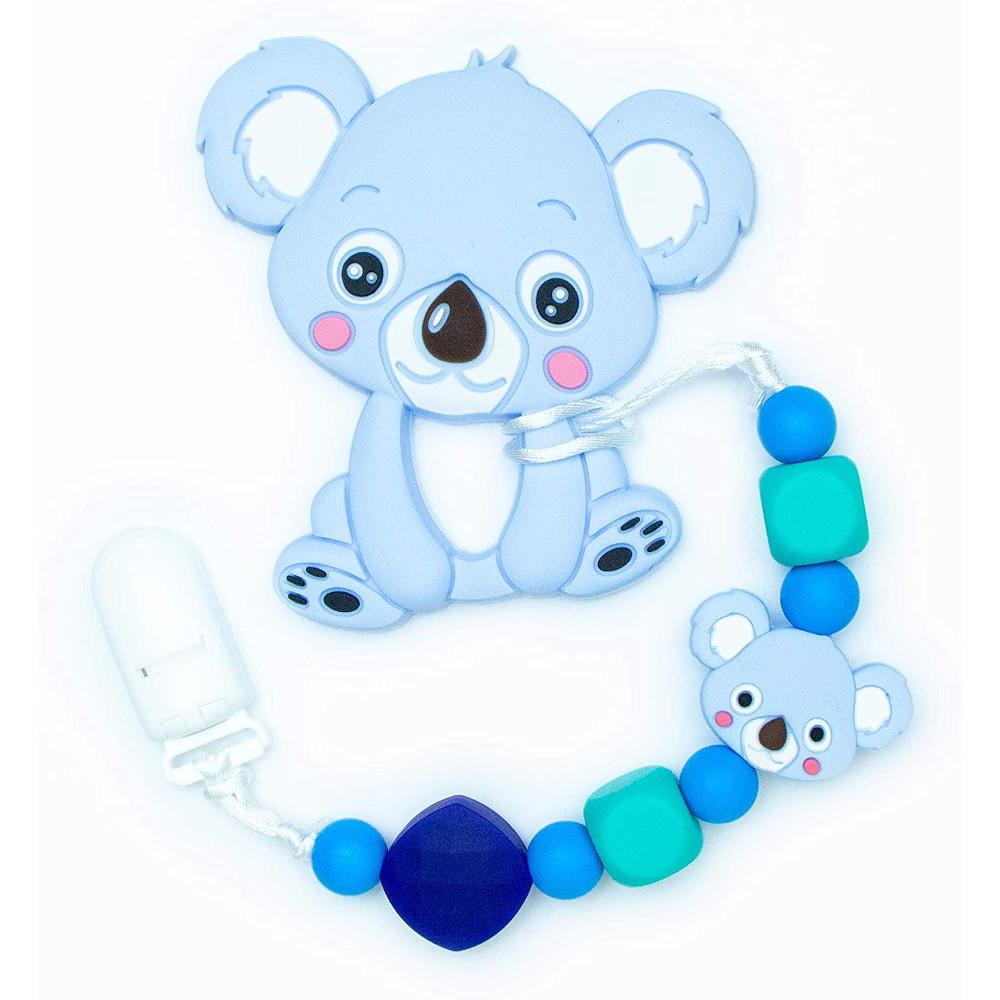 Teething Toys Koala - Blue
