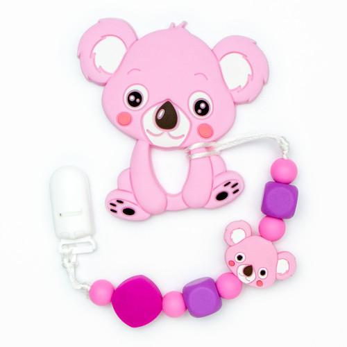 Teething Toys Koala - Pink
