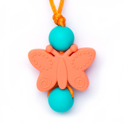 Butterfly Clasp - Orange