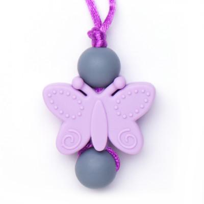Butterfly Clasp - Purple