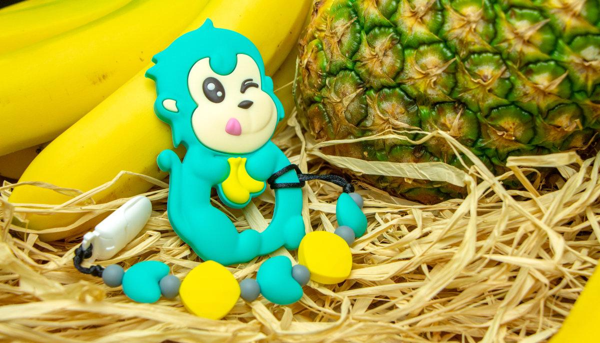 Monkey - Turquoise
