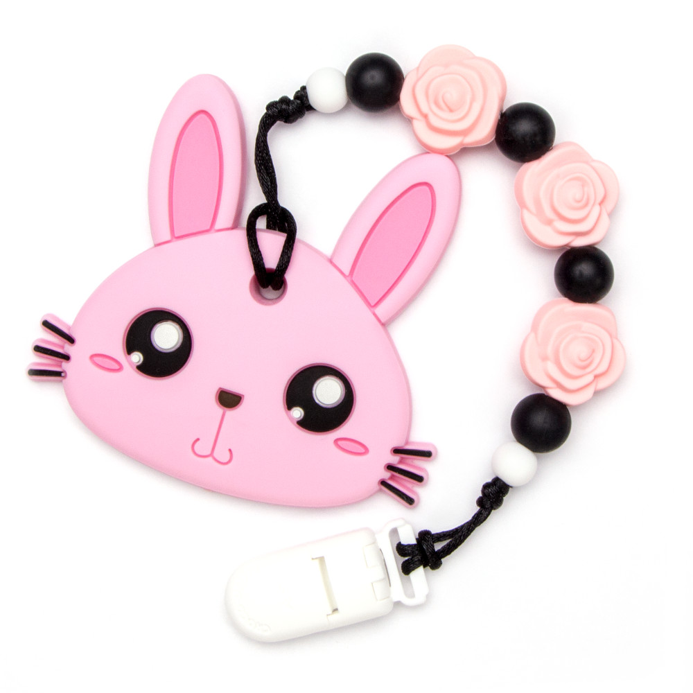 Teething Toys Rabbit - Pink