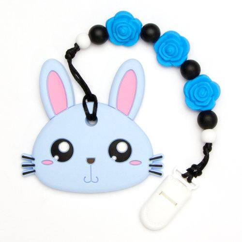 Teething Toys Rabbit - Blue