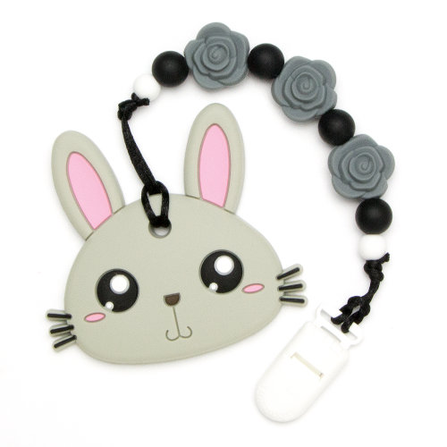 Teething Toys Rabbit - Grey