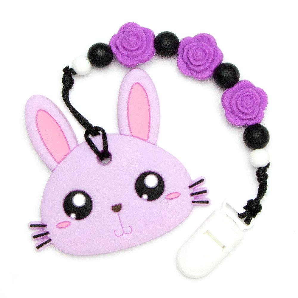 Teething Toys Rabbit - Purple