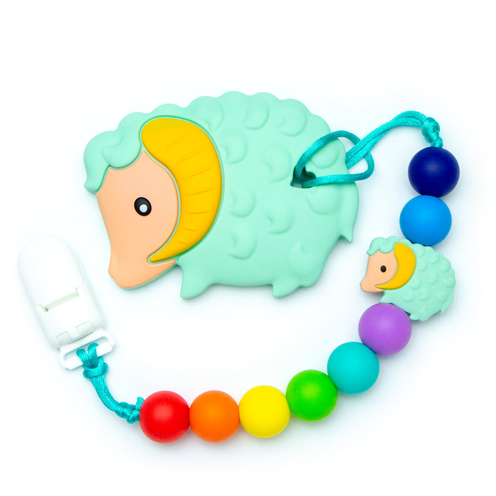 Teething Toys Ram - Green
