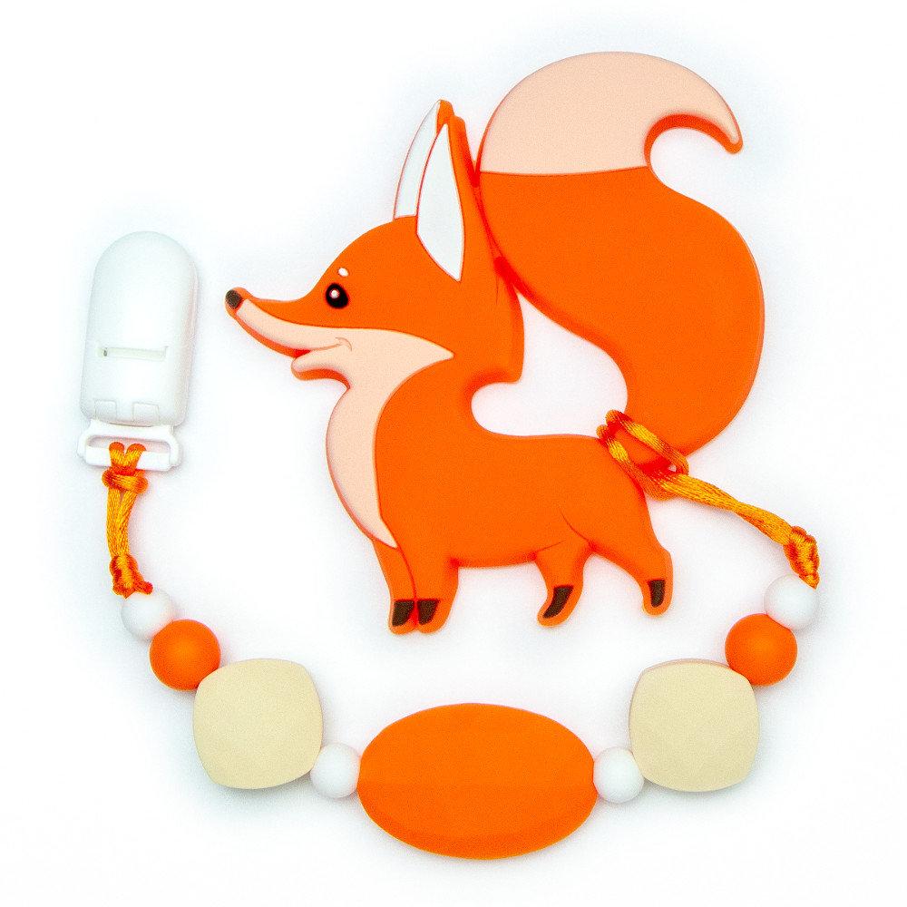 Jouets de dentition Renard - Orange