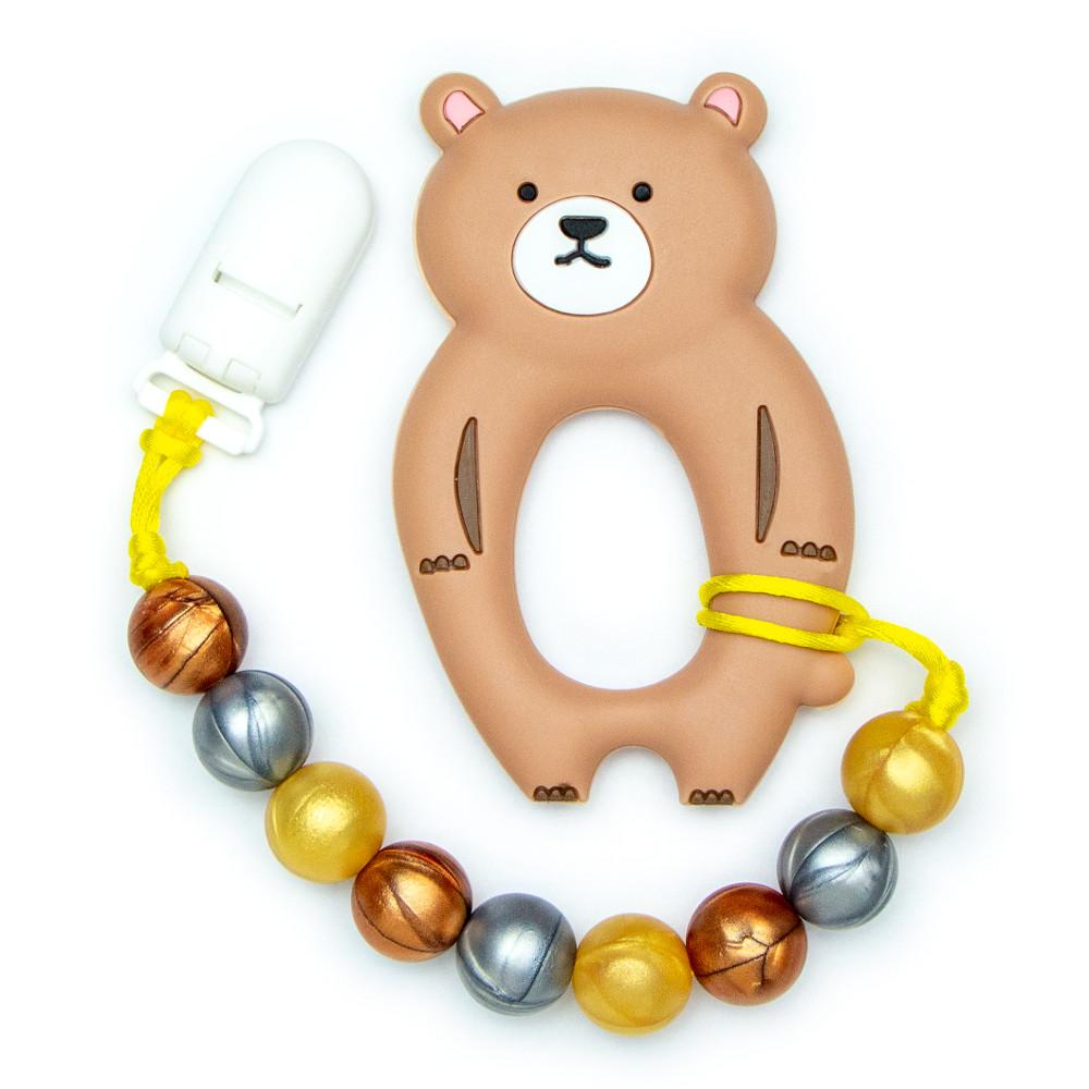 Teething Toys Bear - Brown