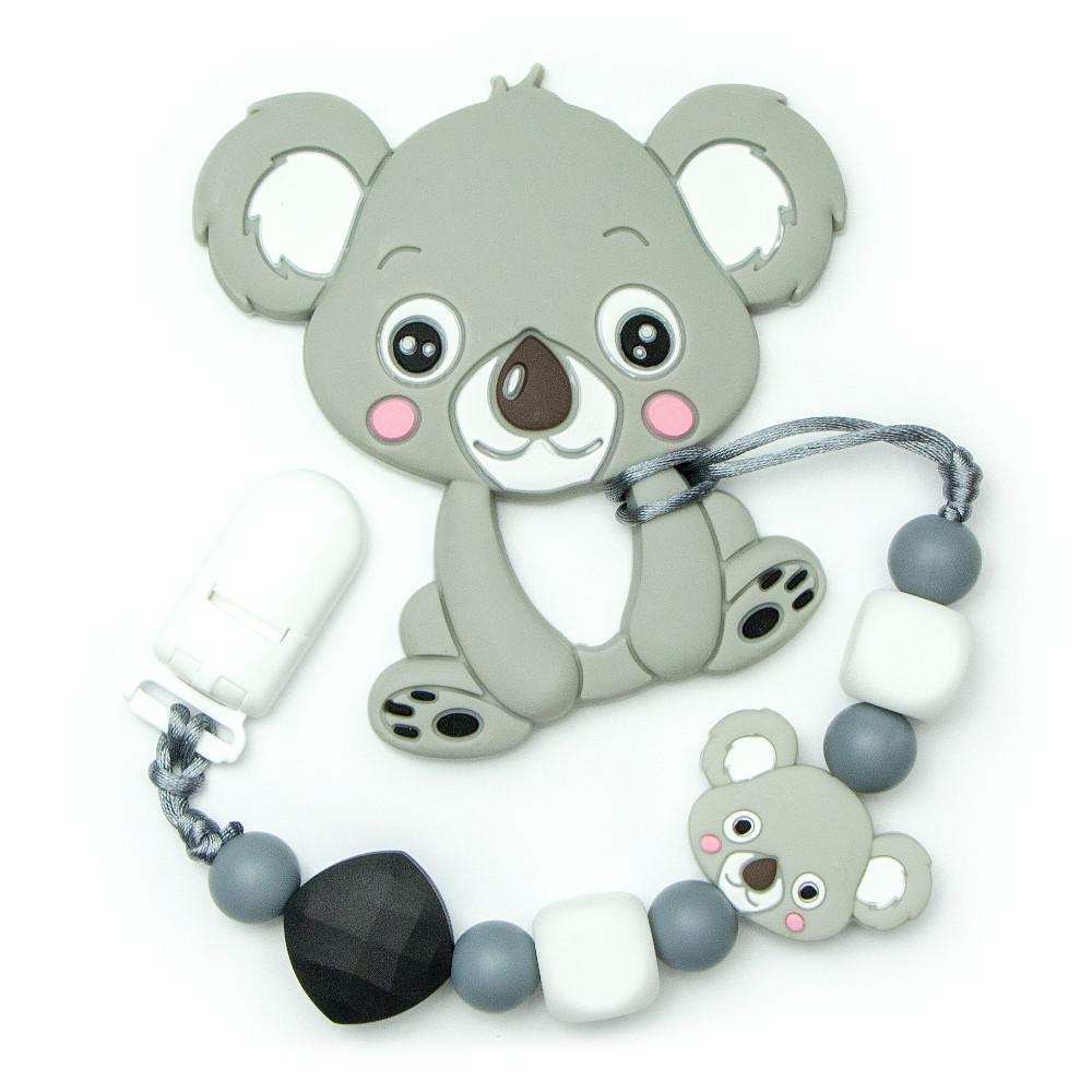 Teething Toys Koala - Grey