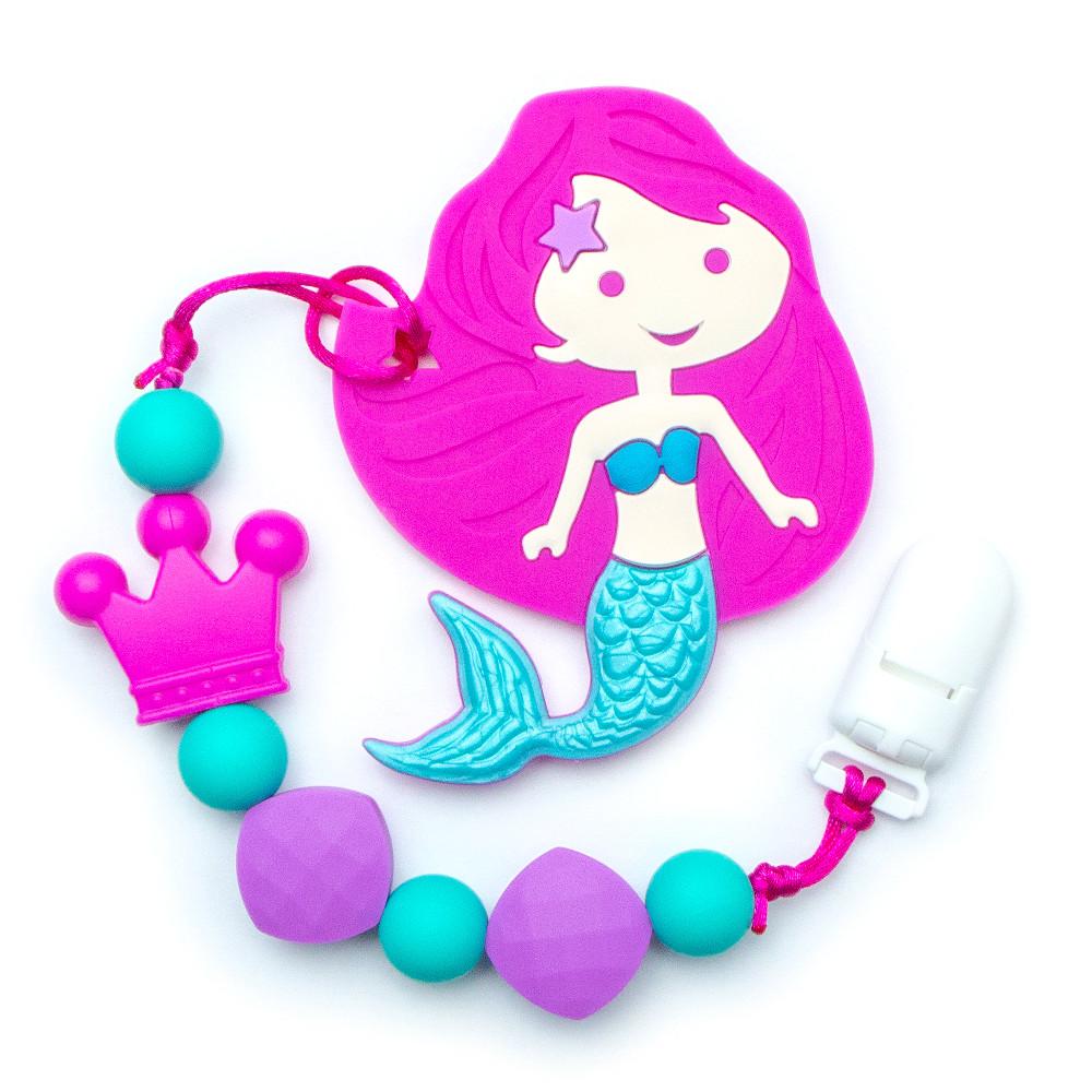 Teething Toys Mermaid - Magenta