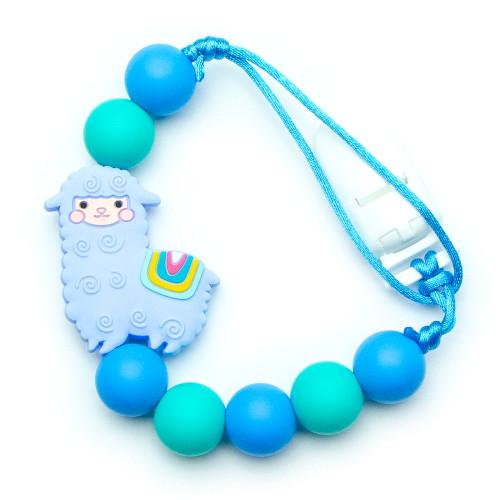 Bébé Alpaga - Bleu