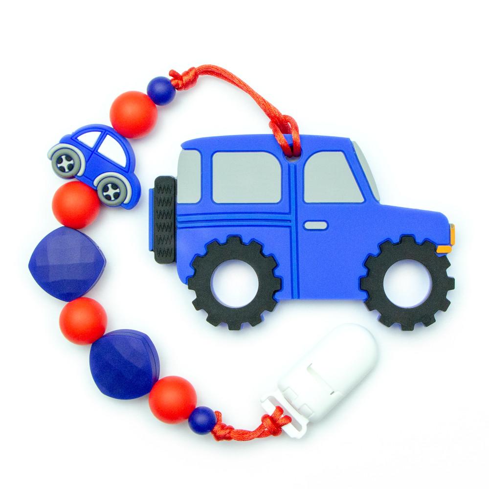 Teething Toys Truck - Blue