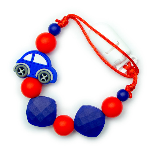 Pacifier Clips Voiture - Blue