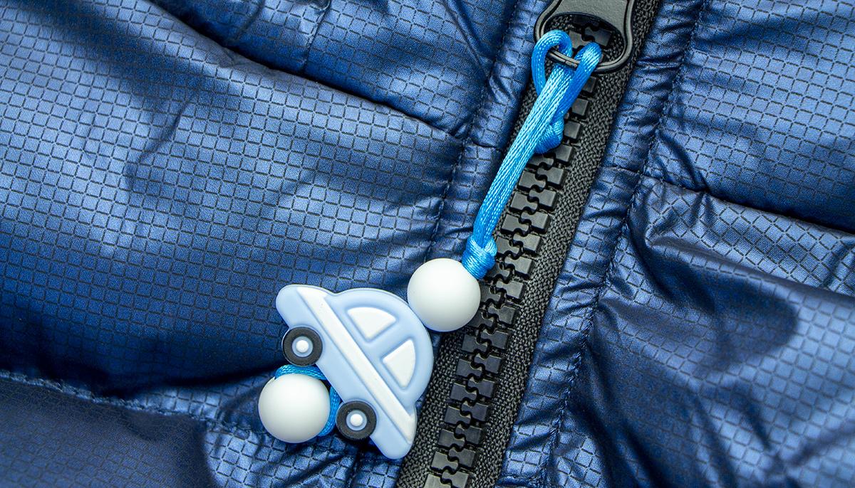 Car Zipper - Blue