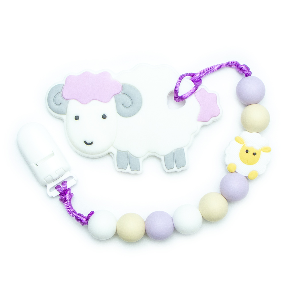 Teething Toys Sheep - Purple