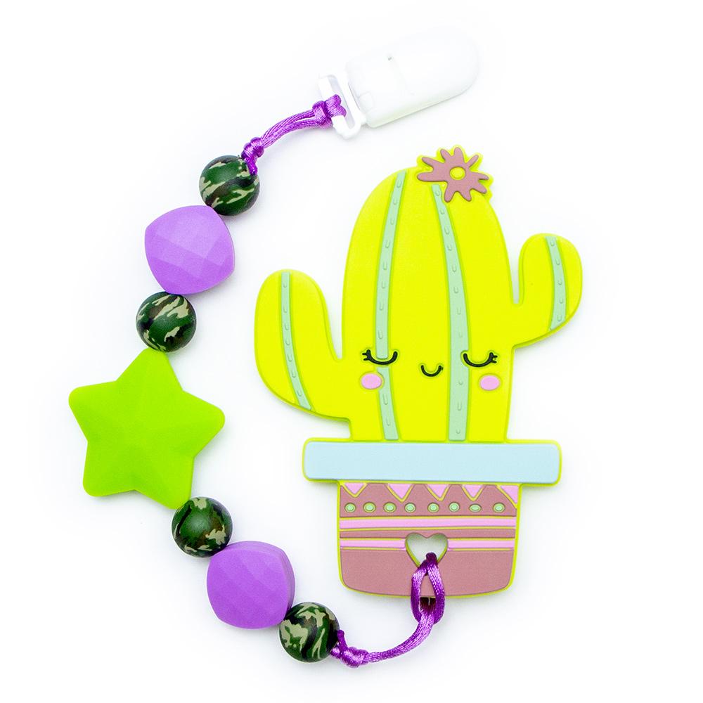 Teething Toys Cactus - Green
