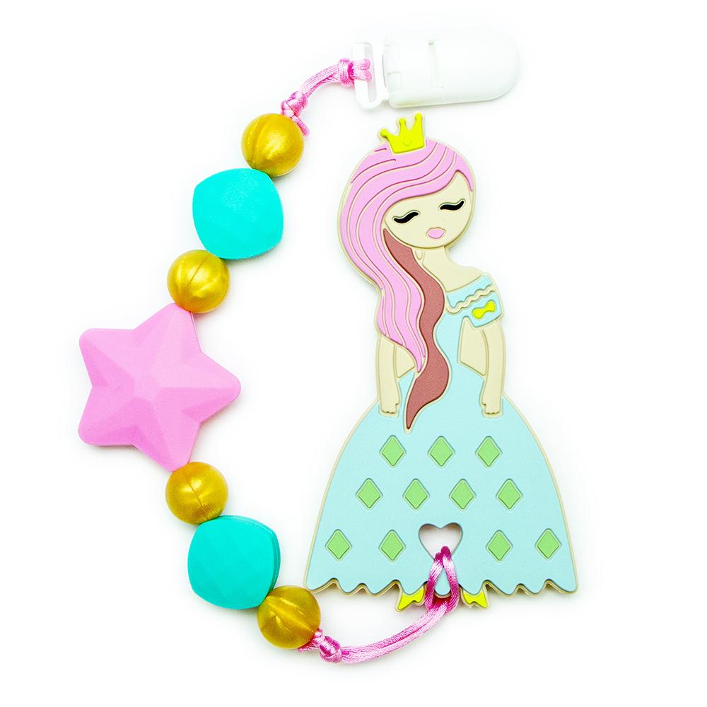 Teething Toys Princess - Pink