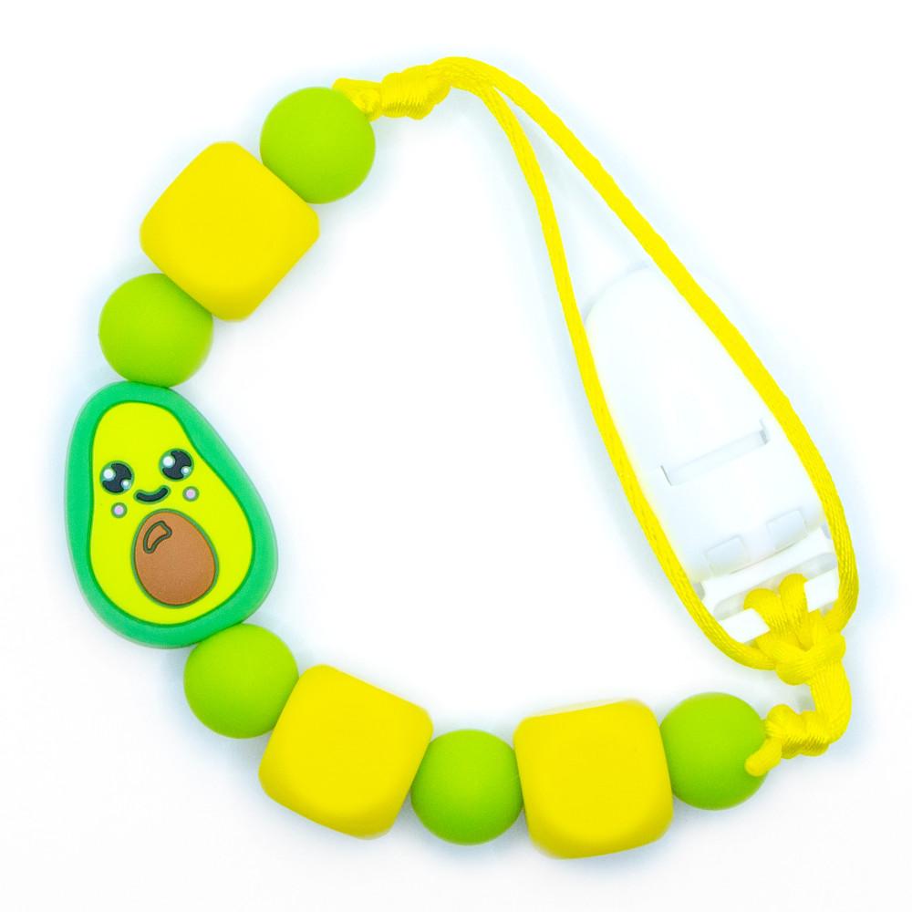 Pacifier Clips Baby Avocado - Green
