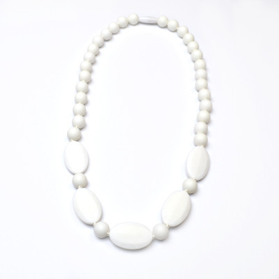 Teething Necklaces Camomile - White